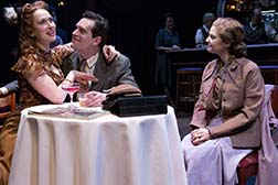 Victoria Mack as Maude Carson, Todd Gearhart as Paul Bishop and Mary Bacon as Addie Bemis, photo Hunter Canning.