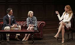 Peter Reni as Sam, Laura Esterman as Harriet, Masha Dietlein Bennett as Alison, photo Carol Rosegg.
