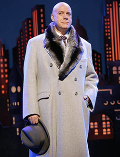 Anthony Warlow as Oliver Warbucks, photo Joan Marcus.