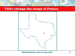12842 French trains map of Texas