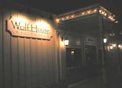 Wolf House restaurant, photo Lucy Komisar.