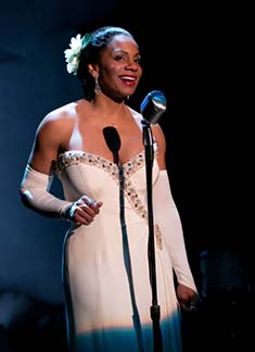 Audra McDonald as Billie Holiday, photo Evgenia Eliseeva.