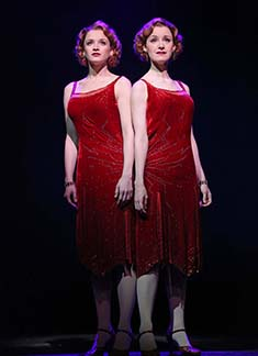 Emily Padgett as Daisy and Erin Davie as Violet, photo Joan Marcus.
