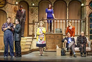 """The cast of the """"play,"""" photo Larry Blackburn."""