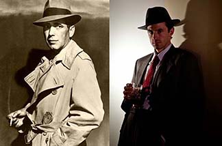 Bogart and Darrow as Farrell.
