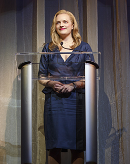Elisabeth Moss as Heidi, photo Joan Marcus.
