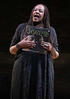 Dael Orlandersmith, photo Joan Marcus. Production Credits: Neel Keller (Director)