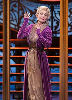 Dee Hoty as Aunt Alicia, photo Margot Schulman.