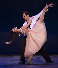 Leanne Cope and Robert Fairchild, An American in Paris, photo Angela Sterling.