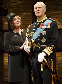 Margot Leicester as Camilla and Tim Pigott-Smith as Charles, photo Joan Marcus.