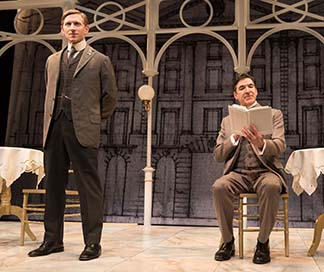 Jeremy Beck as Harry and Jonathan Hadley as Billy, photo Marielle Solan.