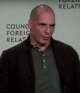 Yanis Varoufakis answers Lucy Komisar's question.