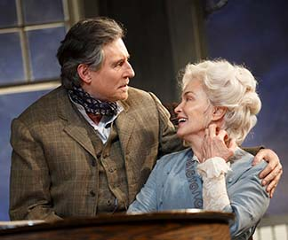 Gabriel Byrne as James and Jessica Lange as Mary, photo Joan Marcus.