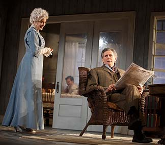 Jessica Lange as Mary, Gabriel Byrne as James, photo Joan Marcus.