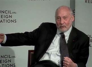 Stiglitz says US should require standards for correspondent relationships.