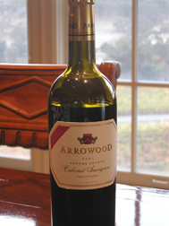 Arrowood Vineyards and Winery wine, photo Lucy Komisarl