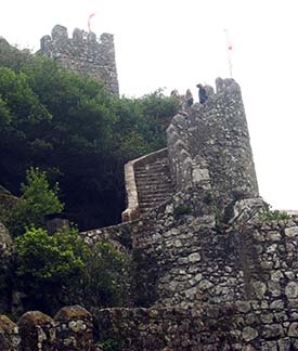 Castle of the Moors.