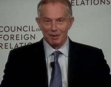 Tony Blair, Bush's partner in Iraq disaster, reinvents himself as a humanitarian